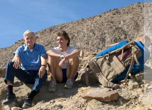 """Into The Wild"", Emilie Hirsch & Hal Holbrook, a film by Sean Penn"